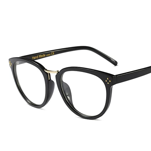 6c3223799a5 Image Unavailable. Image not available for. Color  Eyeglasses Frames  Vintage Men Women Brand Designer Optical Glasses ...