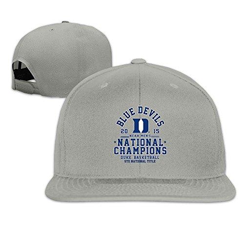 Duke Blue Devils 2015 Basketball National Champions Baseball Snapback Cap Ash
