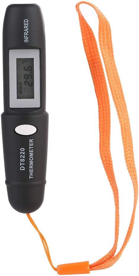 Termómetro sin Contacto de 1 Pieza Mini termómetro infrarrojo Termómetro infrarrojo Medidor de Temperatura Herramienta de medición de Temperatura con Pantalla LCD Digital Apagado automático