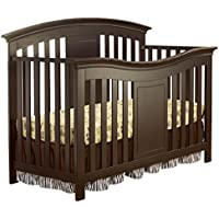 Yorkshire 4-in-1 Fixed-Side Convertible Crib