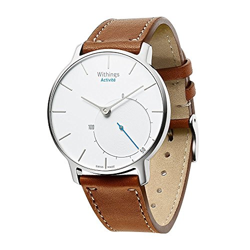 Balerion Band for Nokia steel ,Withings Steel HR 36MM,Activité Sapphire and Activité Steel,Activité pop, Genuine Leather Strap Replacement Watch band Bracelet for Withings Steel HR 36MM--Brown 36MM