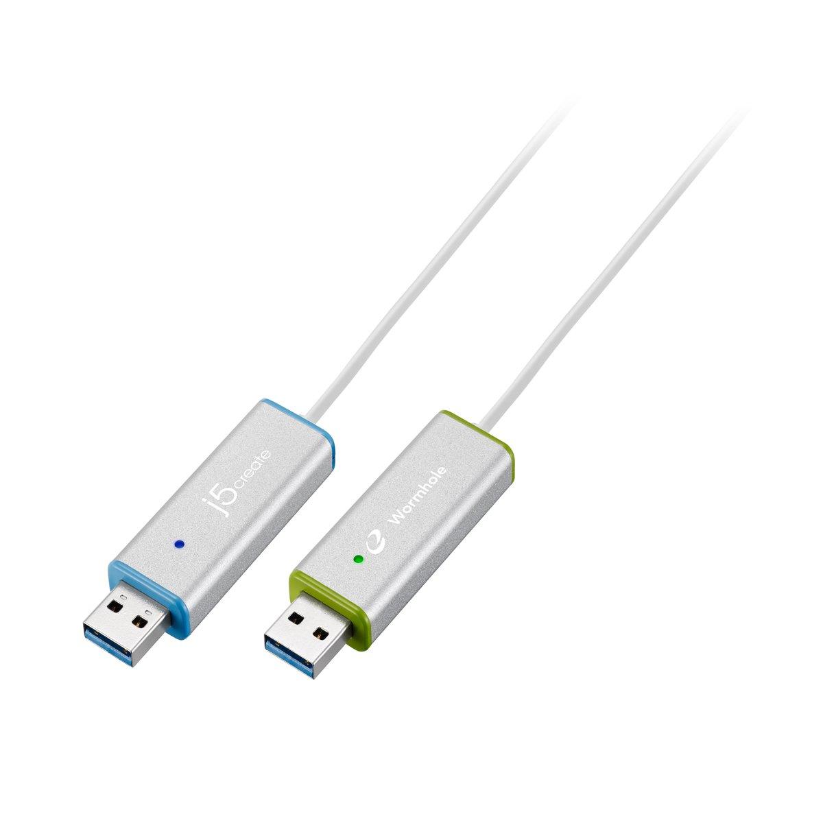 ワームホールスイッチ USB3.0 ディスプレイシェア シルバー JUC700