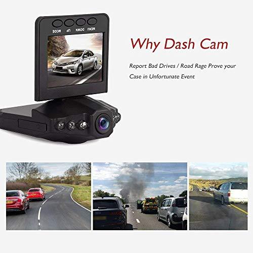 (Belomer Car Dash Camera - Full HD 1080P Car Dashboard Recorder with 170° Wide Angle, G-Sensor, Loop Recording, Night Vision, Motion Detection, Parking Monitor, WDR, G-Sensor, 3'' LCD Screen)