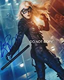 Katie Cassidy of TV show ARROW reprint signed photo #1 RP Laurel Lance Black Canary