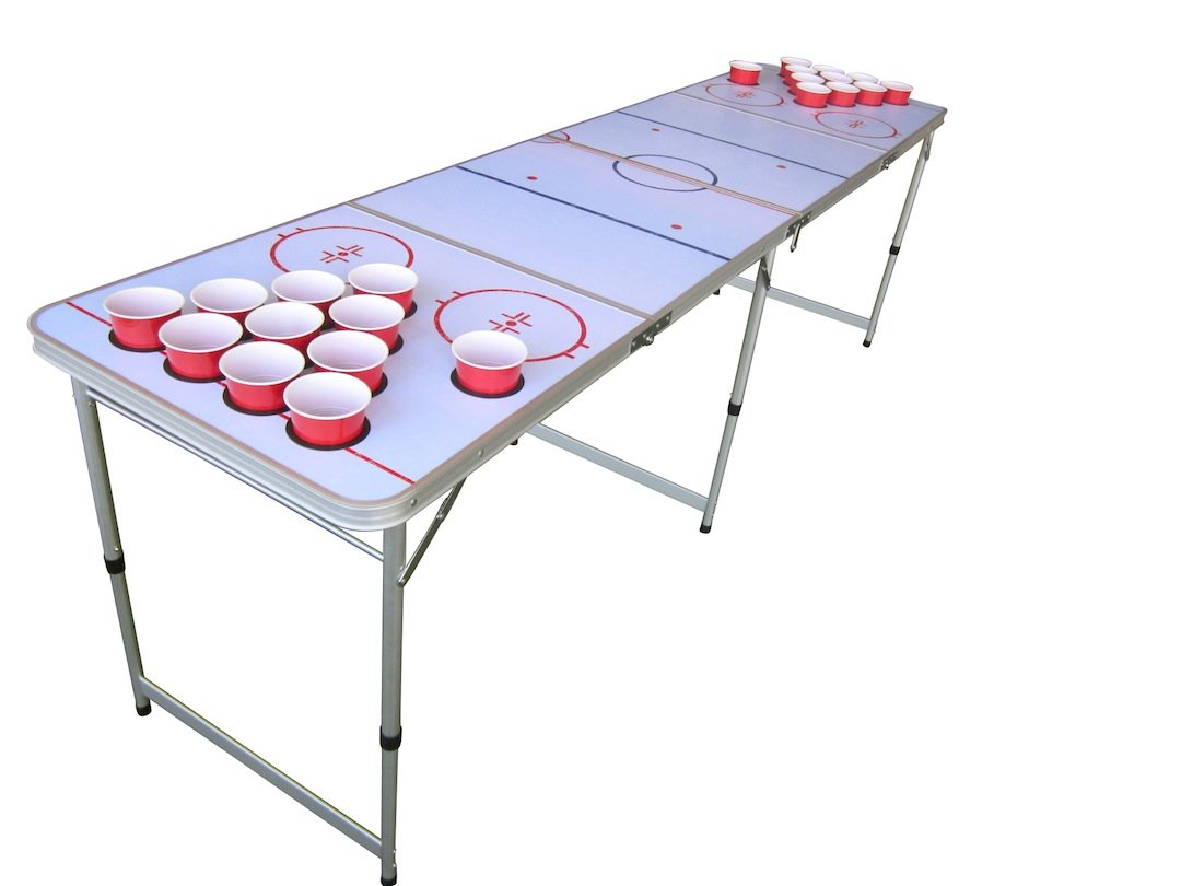Hockey beer pong table - Hockey Beer Pong Table 9
