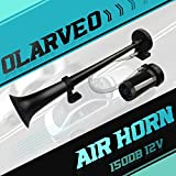 OLARVEO 150db Air Horn kit, Zinc Chrome Single