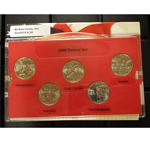 (2000 D Denver Edition State Quarter Collection w/Box Mint State)