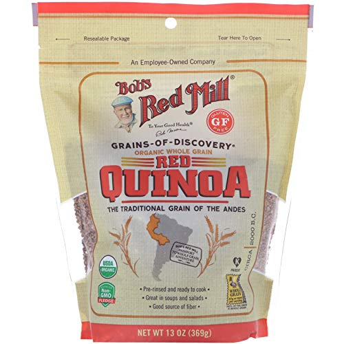 Bob s Red Mill Organic Whole Grain Red Quinoa 13 oz 369 g