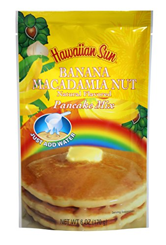 (Banana Macadamia Nut Pancake Mix, 6 Ounce by Hawaiian Sun )