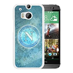 Fashionable Custom Designed Skin Case For HTC ONE M8 With Napoli White Phone Case 7