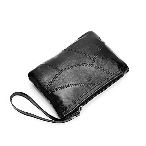 Women Soft Simple Handbag Wallet Clutch Purse Party Wristlets purse small Leather AFfeco Lady Ea5xwqWdER