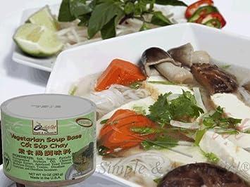 Quoc Viet Foods Vegetarian Soup Base, 10 oz jar (1 unit)