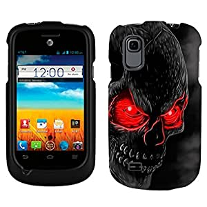 ZTE Avail 2 Red Eye Skull Phone Case Cover