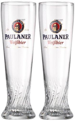 - Paulaner Signature Wheat Beer Glass - 0.5 L - Set of 2