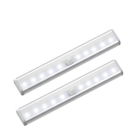Beau Motion Sensor Closet Lights, Cordless Under Cabinet Lighting, Stick On  Anywhere Wireless Battery