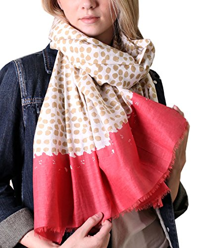 Anika-Dali-Womens-Exotic-Tanzania-Dots-Scarf-in-Cotton-Silk-Blend