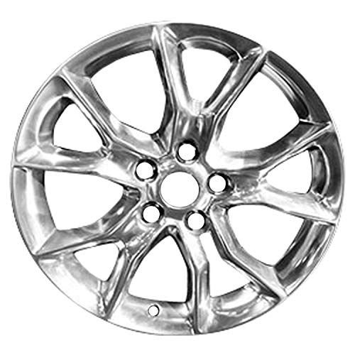 Multiple Manufactures ALY09138U20 Silver Wheel with Painted and Meets All Federal Motor Safety Standards (20 x 8. inches /5 x 127 mm, 56 mm Offset)