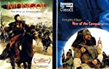 GENGHIS KHAN Bundle (2-DVDs) ~ Mongol: The Rise of Genghis Khan (Widescreen, 2008) / Genghis Khan: Rise of the Conqueror (Discovery Channel, 2007) (Total 2 hrs 55 min)