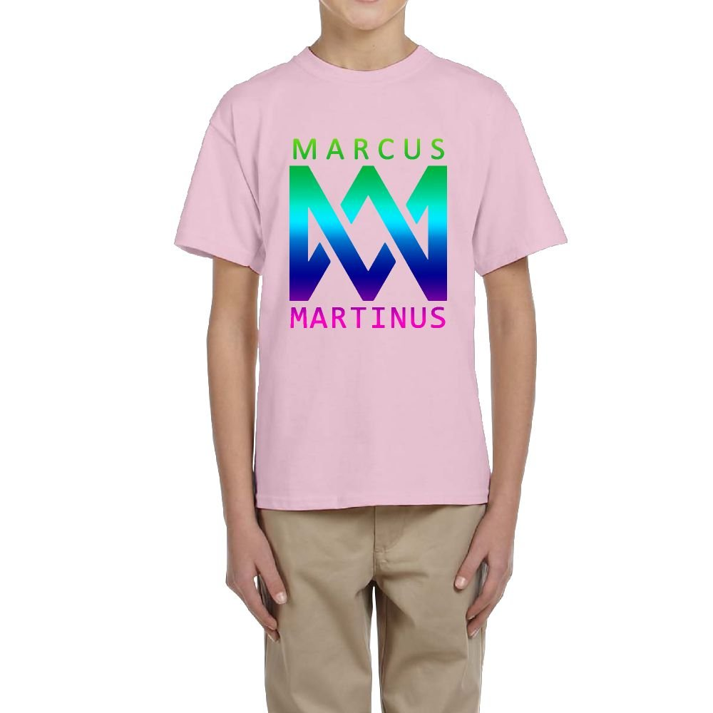 QinTou Marcus /& Martinus Customized T-Shirt Youth 100/% Cotton Funny Tee