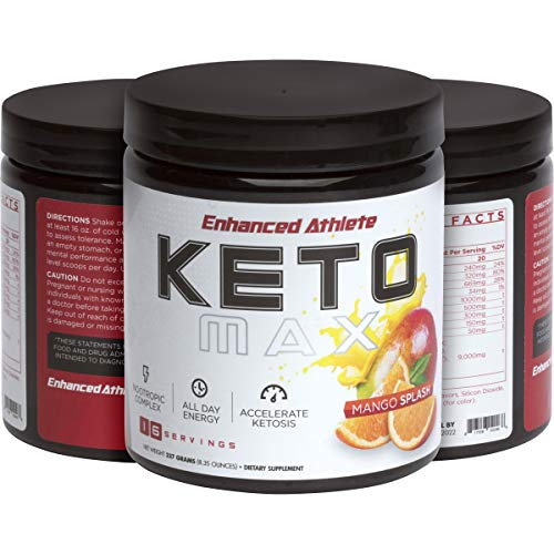Enhanced Athlete Keto Max - Accelerate Ketosis, All Day Energy Combined with a Nootropic Complex