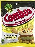 Combos 7 Layer Dip Tortilla Baked Snacks 6.30 oz