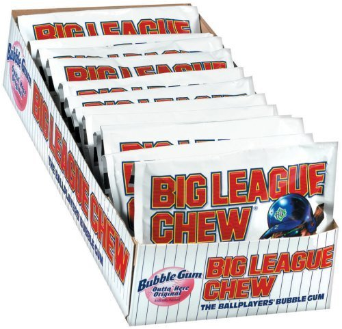 Big League Chew, Original, 2.1-Ounce Pouch, 12-Count - pack of 2 by Big League Chew