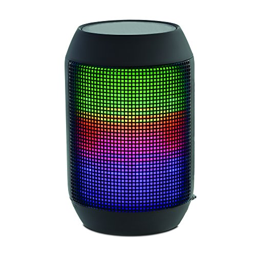 SoundLogic XT Rechargeable Wireless Rave II Bluetooth Speaker w/ LED Light Show