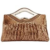 Fawziya® Lips Big Purses And Handbags For Women Rhinestone Crystal Clutch Bag
