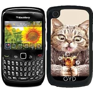 Funda para Blackberry Curve 8520/8530/9300/9330 - Cat & Refresco by Adam Lawless