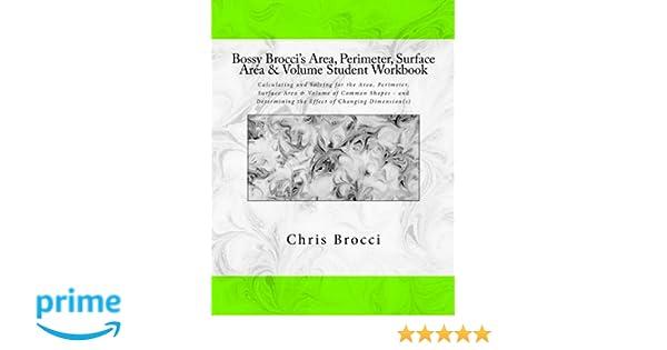 Amazon.com: Bossy Brocci's Area, Perimeter, Surface Area & Volume ...