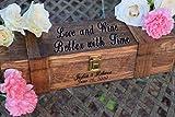 Ceremony Wine Box - Wine Capsule - Wedding Wine Box - Rustic Wedding Shabby Chic Wedding -Personalized Wine Box Gift - Wedding Gift
