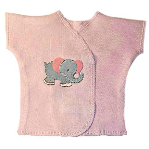Jacqui's Baby Girls' Eager Elephant Girl Shirt, Micro ()