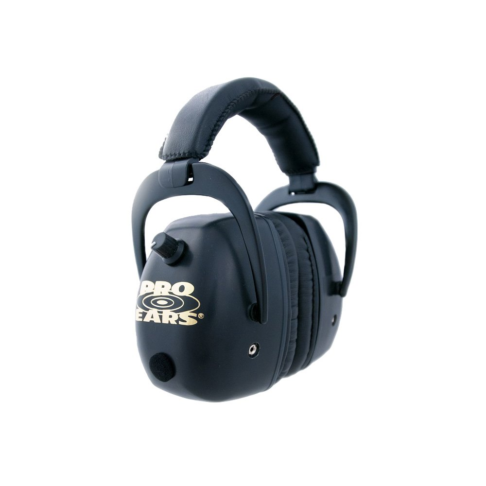 Pro Ears - Pro Mag Gold - Electronic Hearing Protection and Amplification - NRR 30 - Shooting Range Ear Muffs by Pro Ears