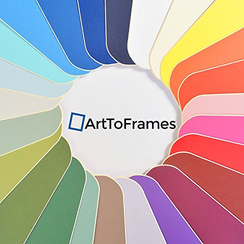 15x21 Cobblestone / Pewter Custom Mat for Picture Frame with 11x17 opening size (Mat Only, Frame NOT Included) by ArtToFrames (Image #4)