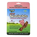 EMERALD PET Products Smart N Tasty Piggy Twizzies Bits- Pork 10 Ounce For Sale