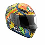 AGV K3 5-Continents Helmet , Distinct Name: 5-Continents, Gender: Mens/Unisex, Helmet Category: Street, Helmet Type: Full-face Helmets, Size: XS, Primary Color: Blue 032150A0015004