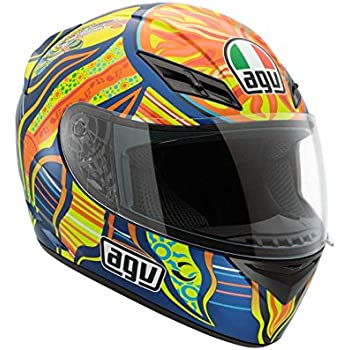 AGV K3 5-Continents Helmet , Distinct Name: 5-Continents, Gender: Mens/Unisex, Helmet Category: Street, Helmet Type: Full-face Helmets, Primary Color: Blue, ...