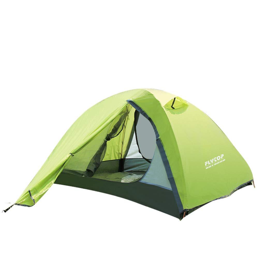 HUIYUE Hochwertige Zelte,Camping Zelte,Outdoor Kuppelzelte,Double-Layer Doppelzimmer Personen Regendichte Portable Park Reise Zelt
