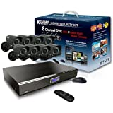 Kworld Kguard Video Surveillance System with 8 CMOS Cameras and 500GB HDD Complete Kit KG-CA24-C03