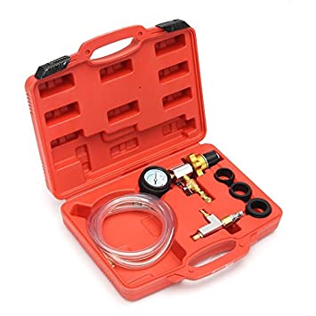 Herramienta para rellenar y purgar el refrigerante del automóvil Refrigeración del radiador del coche automático Sistema