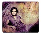 Mouse pads,(Black)12 X 10 X 0.12in.Non-Slip Rubber Mouse Pad[Natural rubber,Durable heat-resistant Precision Fabric]Rectangular Gaming Mouse Pad-Dj Lana Parrilla