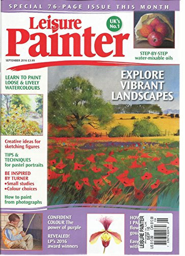 LEISURE PAINTER MAGAZINE, SEPTEMBER, 2016 SPECIAL 76- PAGES ISSUE THIS MONTH (This Month In History)