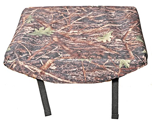 Square Covered Buckle (Camo Water-resistant, Rain-proof Seat Cushion for Bleachers, Stadium Pad, Car Seat, Camping Chair, Wheelchair, Hunters Blind Tree Stand Seat, Tractor Pad, Office Chair)