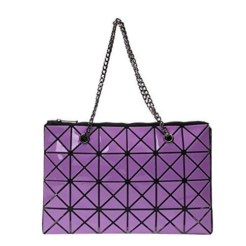 Coréenne Sac Lingge Dames Mode Bandoulière Couture Main Sac Pliable Main Main à Bag Sac à A Sac à CY La De Version Diagonale à vPq7EBt