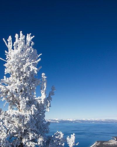 Snow White Lake View, Heavenly Valley, South Lake Tahoe, Nevada – Framed Photo Art Print, 11