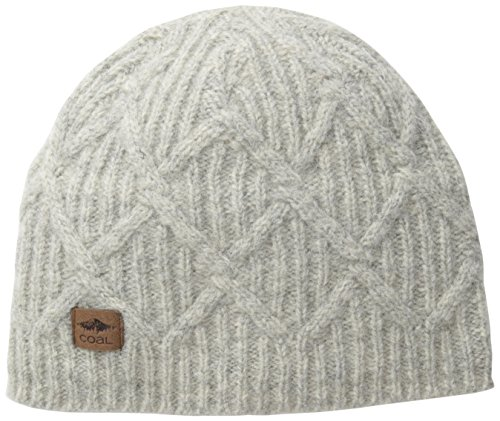 Coal Men's Yukon Unisex Beanie, Grey, One Size
