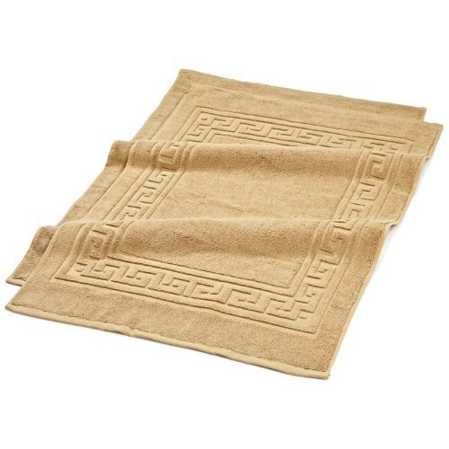 900GSM 2-Piece Bath Mat Set Toast by SUPERIOR by Superior