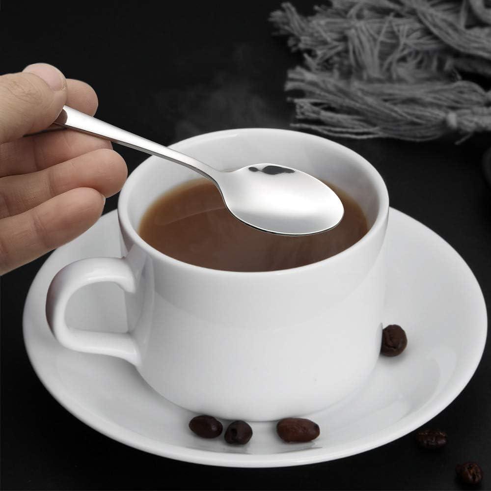 Cucchiaino da caff/è piccolo in acciaio INOX 12 pezzi Asking