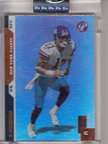 Michigan State Spartans Card Box - 2005 Topps Uncirculated Factory Sealed 318/750 #79 Plaxico Burress Giants Box 1