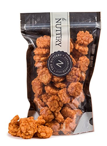 The Nuttey Crispy Chili Rice Cake Crisps Hot and Spicy Flavor Pouch Bags (1lb.)